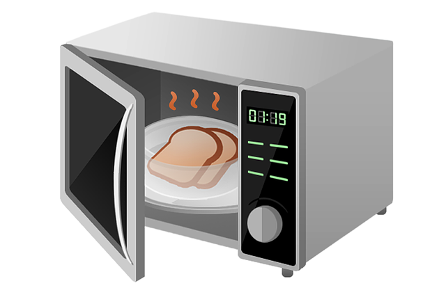 use of microwave risk